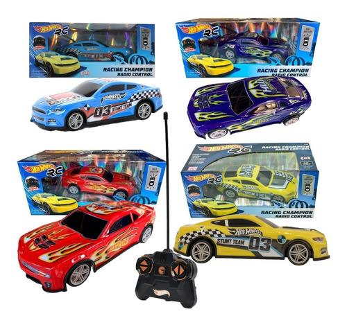 Hot Wheels Carro Radio Contro Remoto Racing Champion Rc
