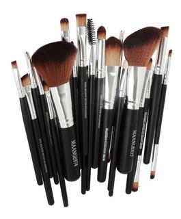 Set 22 Brochas Profesional Maquillaje Sombras