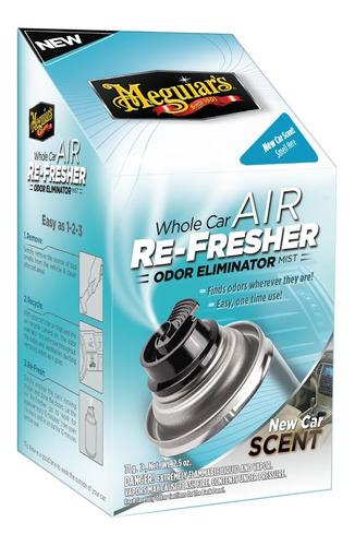 Imagen 1 de 2 de Car Air Refresher  New Car  Meguiars  Exterminador De Olores