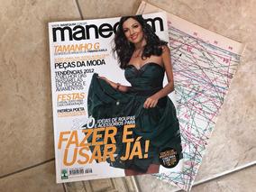 Revista Manequim 626 Patrícia Poeta Festas Vestidos Blazers
