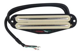 Captador Fleor Mini Humbucker Dual Rail Stratocaster 9k
