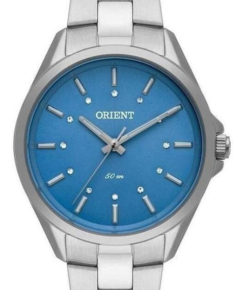 Relógio Orient Feminino Prata Fbss0079 A1sx
