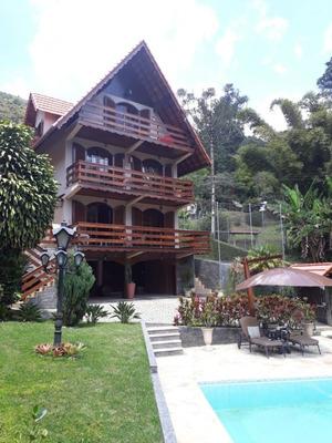 Casa A Venda No Bairro Debossan Em Nova Friburgo - Rj. - 3036-1