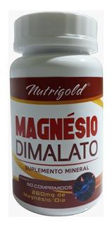 Magnésio Dimalato 60 Comprimidos 1000mg Lair Ribeiro Só2/dia