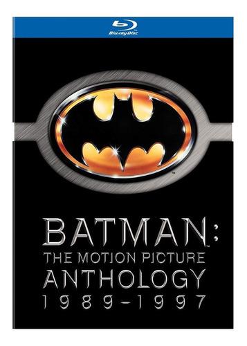 Batman: The Motion Picture Anthology  Blu-ray(importado)