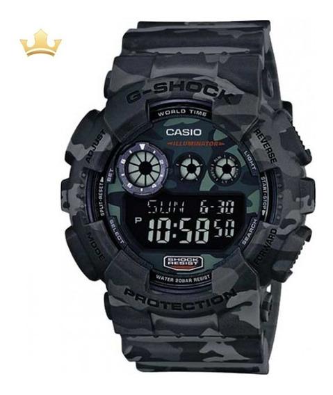 Relógio Casio G-shock Masculino Gd-120cm-8dr Com Nf