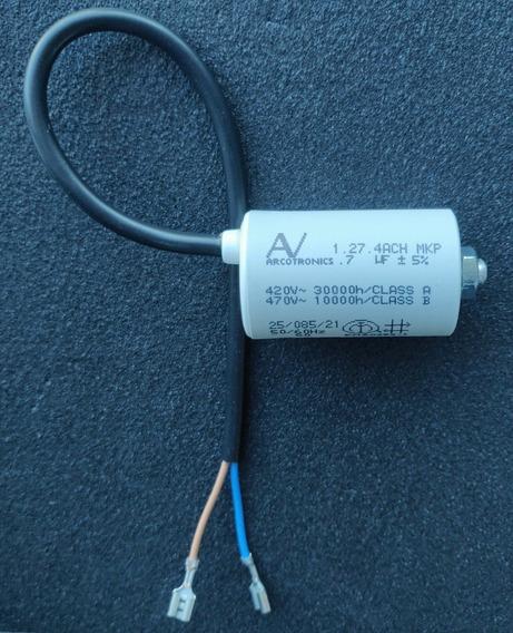 Capacitor De Partida Arcotronics 7uf, 420v / 470v / 5% /#8