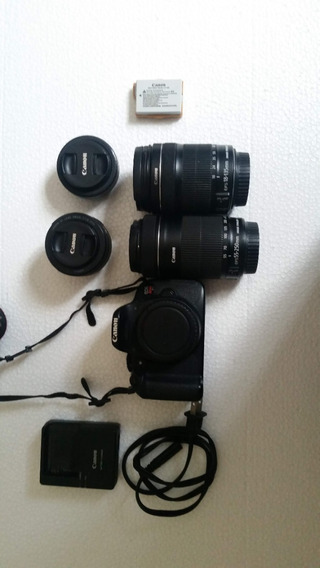 Canon T5i - 18-135mm Stm, 24mm Stm, 55-250 Stm, 50mm Stm ...