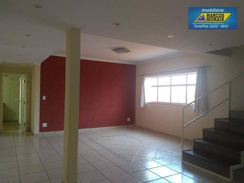 Imagem 1 de 30 de Casa Com 3 Dormitórios Para Alugar, 238 M² Por R$ 3.100,00/mês - Vila Hortência - Sorocaba/sp - Ca1465