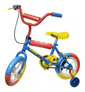 Bicicleta Infantil Rodado 12 Niño Nene Ruedas Refor Cuotas