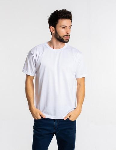Imagem 1 de 4 de Kit 6 Camisetas Malha Fria Pv Brancas Promoção P-m-g-gg
