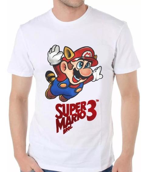 Remera Super Mario Bros 3. - Oficial Nintendo