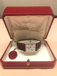 Reloj Must De Cartier Ref 2414 Original Manuel Y Estuche