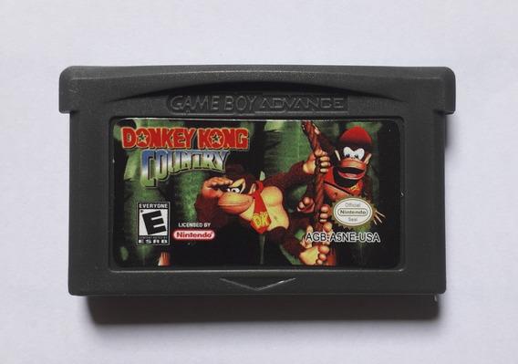 Donkey Kong Country Dk1 Salvando Game Boy Advance Gba