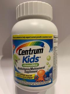 Centrum Kids Multivitaminico Importado Com 80 Comprimidos