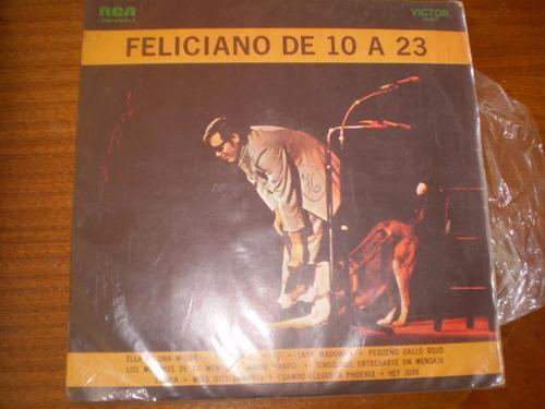 Vinilo De Jose Feliciano De 10 A 23  (u174