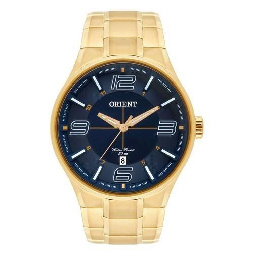 Relógio Orient Masculino Mgss1136 D2kx Dourado