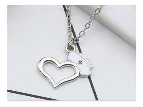 Colar Medicina Enfermagem Coração Amor