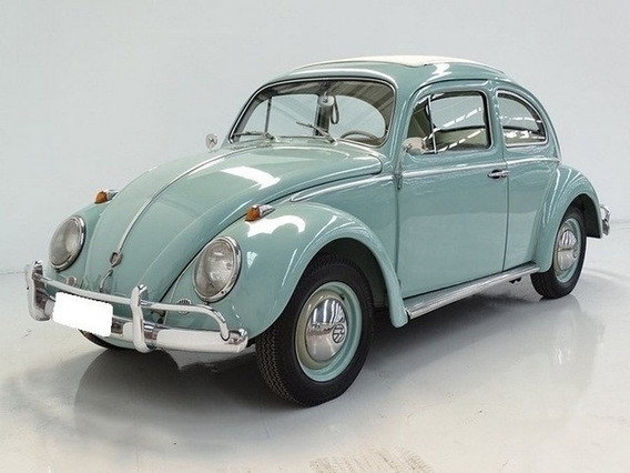 Volkswagen Fusca 1.2 Azul 1200 Gasolina 2p Manual 1965