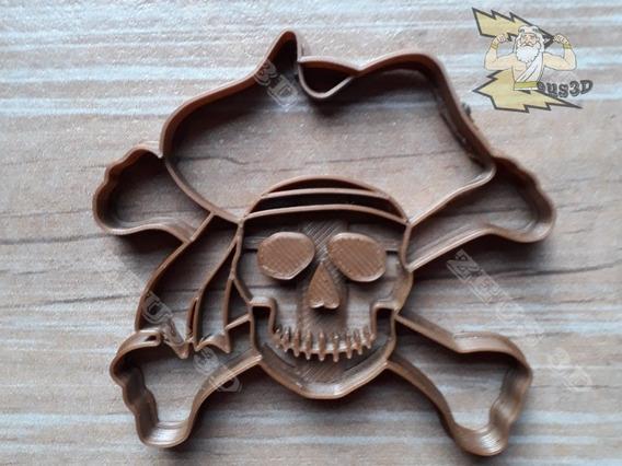 Cortante Molde Galletitas Fondant - Pirata Espada Garfio