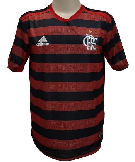 Camisa Flamengo Listrada E Branca 2018