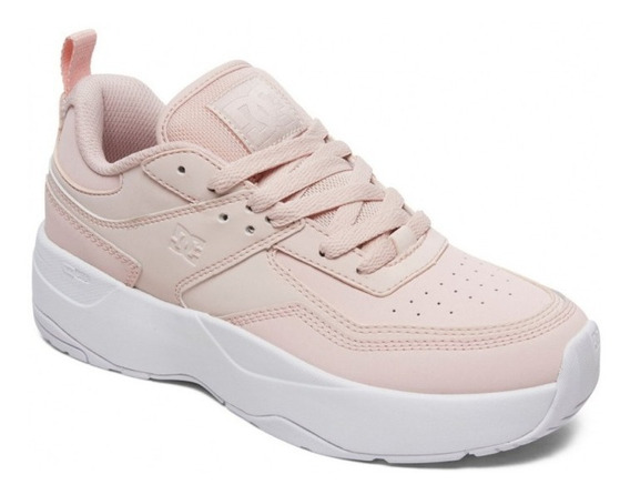 Zapatillas Dc Mujer E. Tribeka Plat (pec) 35al40 Plataforma