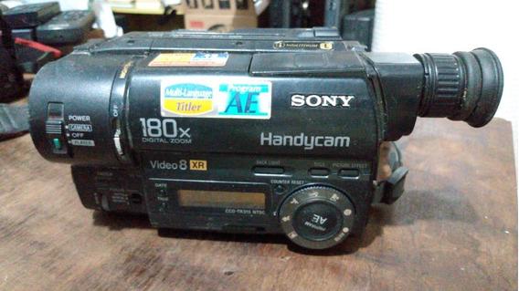 Filmadora Sony Ccd Tr315 (sucata) (só Pra Peças)