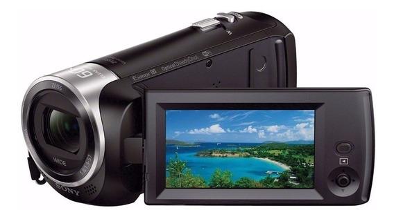 Filmadora Sony Handycam Hdr-cx440 Hd Sensor Cmos Exmor R 60x