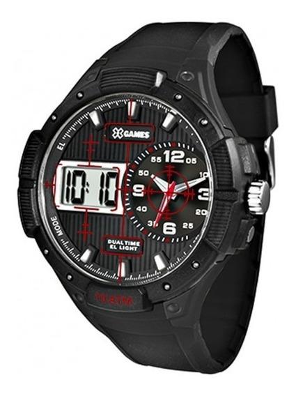 Relógio X Games Xmppa216 Bxpx Preto Original