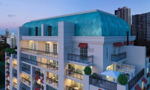 Apartamento Com 2 Dormitórios À Venda, 90 M² Por R$ 1.024.100,00 - Mercês - Curitiba/pr - Ap3375