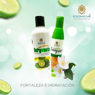 Shampoo De Bergamota Original + Fenogreco Hidratante