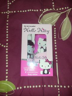 Set Body Splash/body Lotion Hello Kitty *original Sanrio*
