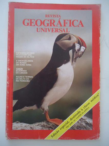 Geográfica Universal #77 Ano 1981 Papagaio Do Mar