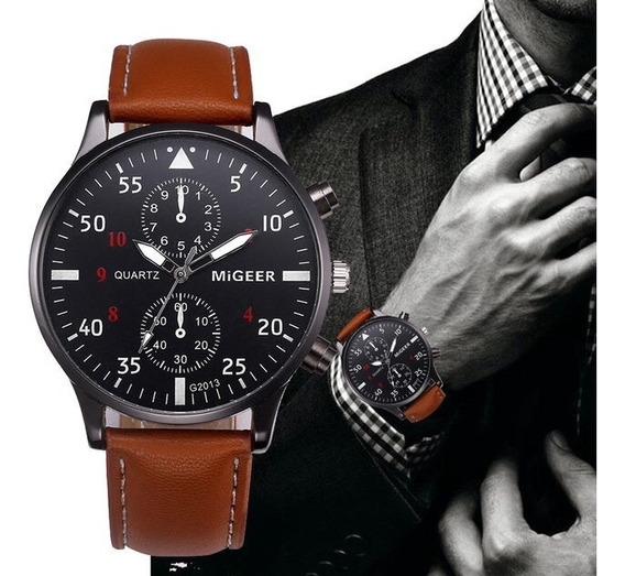 Reloj Masculino Migger Nuevo 2018