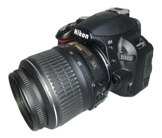 Câmera Nikon D3100 Lente 18-55mm