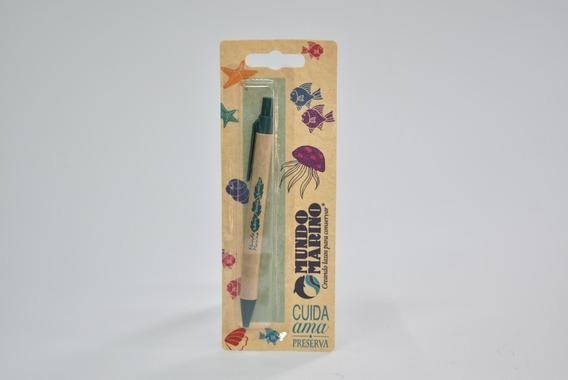 Bolígrafo Bambú Mundo Marino
