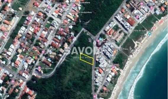 Terreno Com 610,59 M², Localização Privilegiada Em Quatro Ilhas, Bombinhas, Sc - 2205