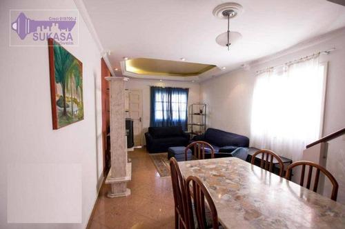 Sobrado Com 3 Dormitórios À Venda, 120 M² Por R$ 620.000,00 - Vila Santa Luzia - São Bernardo Do Campo/sp - So0461