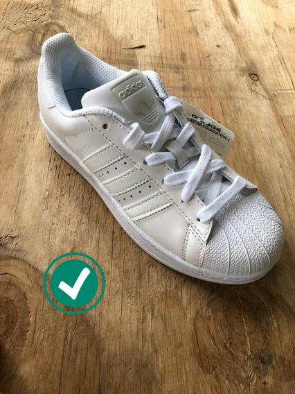 Zapatillas Superstar adidas Originales Blancas