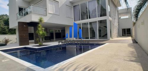 Casa A Venda Condomínio Arujá Hills 1 E 2 Com 4 Suítes  Ampla Área Gourmet - 677