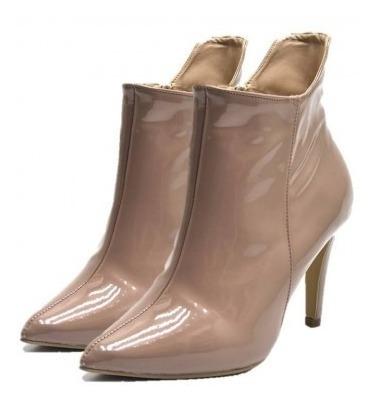 Bota Ankle Boot Dududias Feminina Bico Salto Fino - 1733