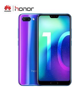 Versión Global Huawei Honor 10 Teléfono Móvil 4g/128gb Azul