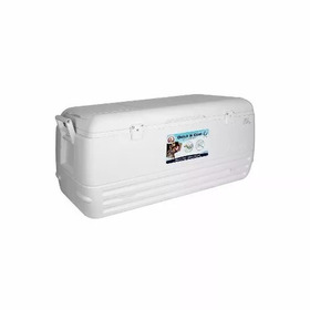 Caixa Térmica Igloo Quick & Cool 100qt 95 Litros Branca