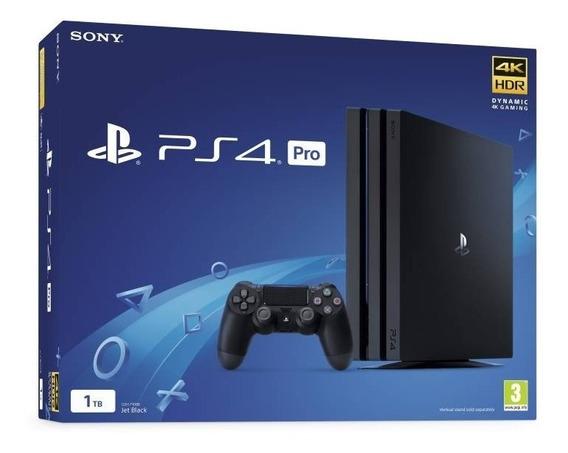Console Sony Playstation 4 Pro 1tb Modelo Cuh-7216 - Preto