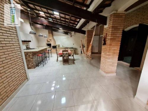 Casa Com 3 Dormitórios À Venda, 314 M² Por R$ 460.000,00 - Chácaras Campo Limpo - Campo Limpo Paulista/sp - Ca0431