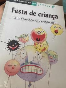 Livro Festa De Criança.