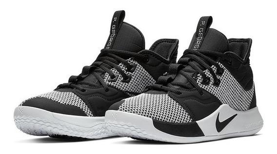 Tenis Nike Paul George 3 Pg 3 Monochrome Basket Jordan Kyrie Kobe Soldier