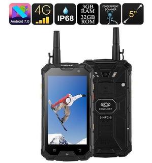 Celular Conquest S8 Ip68 Super Antena Para Campo Zona Rural