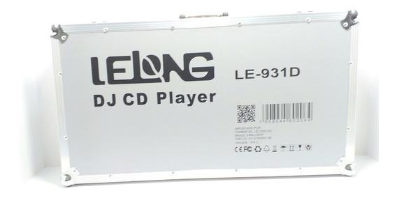 Cdj Profissional Lelong Le-931d Lancamento No Brasil