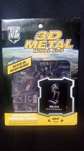Modelo De Metal Armable Sellado Con Instructivo